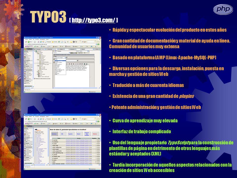 TYPO3 [ http://typo3.com/ ]